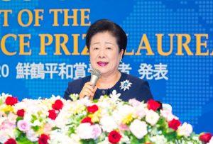 「第4回鮮鶴平和賞受賞者」発表、潘基文前国連事務総長には「創設者特別賞」
